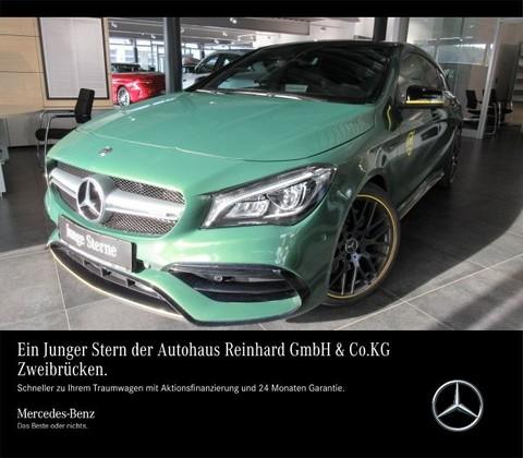 Mercedes-Benz CLA 45 AMG Shooting Brake 19 Night Abgas