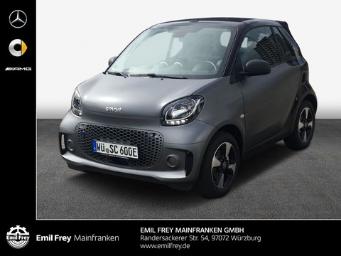 smart ForTwo cabrio EQ 22--Bordlader