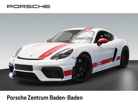 Porsche Cayman 718 GT4 Clubsportpaket Vollschalensitze