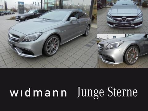 Mercedes CLS 63 AMG S SB Drivers P Burmester