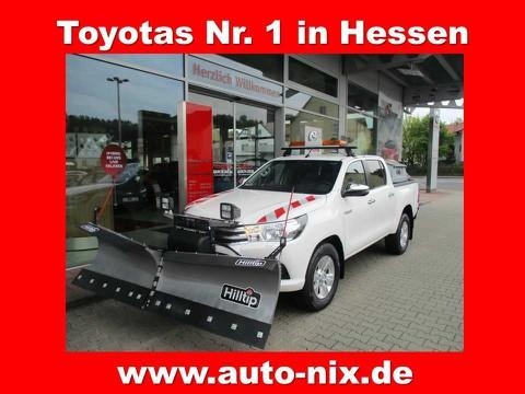 Toyota Hilux Double Cab Duty Comfort WINTERDIENST-UMBAU