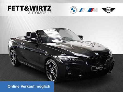 BMW 220 i Cabrio SAG M-Sport H K