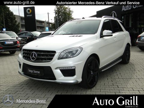 Mercedes-Benz ML 63 AMG FahrasPlus Logic7