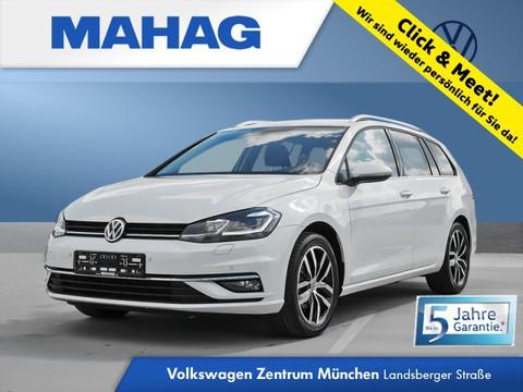 Volkswagen Golf Variant 1.5 TSI Golf VII Highline LightAssist FrontAssist 17Zoll