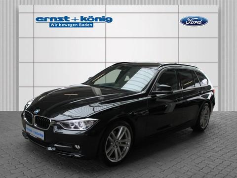 BMW 318 d Sport Line Head Fahrw