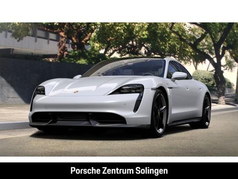 Porsche Taycan Turbo S Burmester Sitzbelüftung Beifahrerdisplay