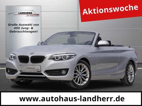 BMW 218 d Cabrio Advantage