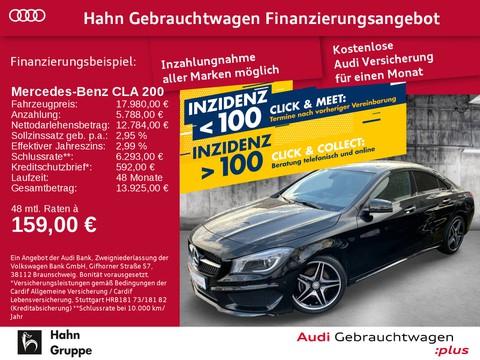 Mercedes-Benz CLA 200 1.6 AMG-Line Einpark